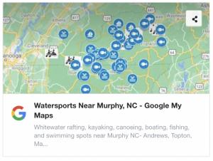 Watersports Near Murphy NC