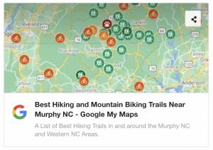 Best Hiking and Mountain Biking Near Murphy NC